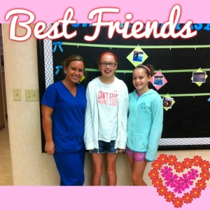 Orthodontic Assistant Melissa with patient