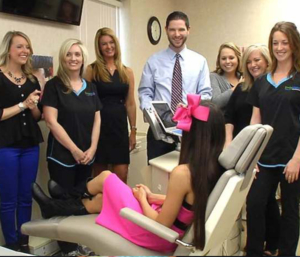 Hendersonville braces orthodontist with staff